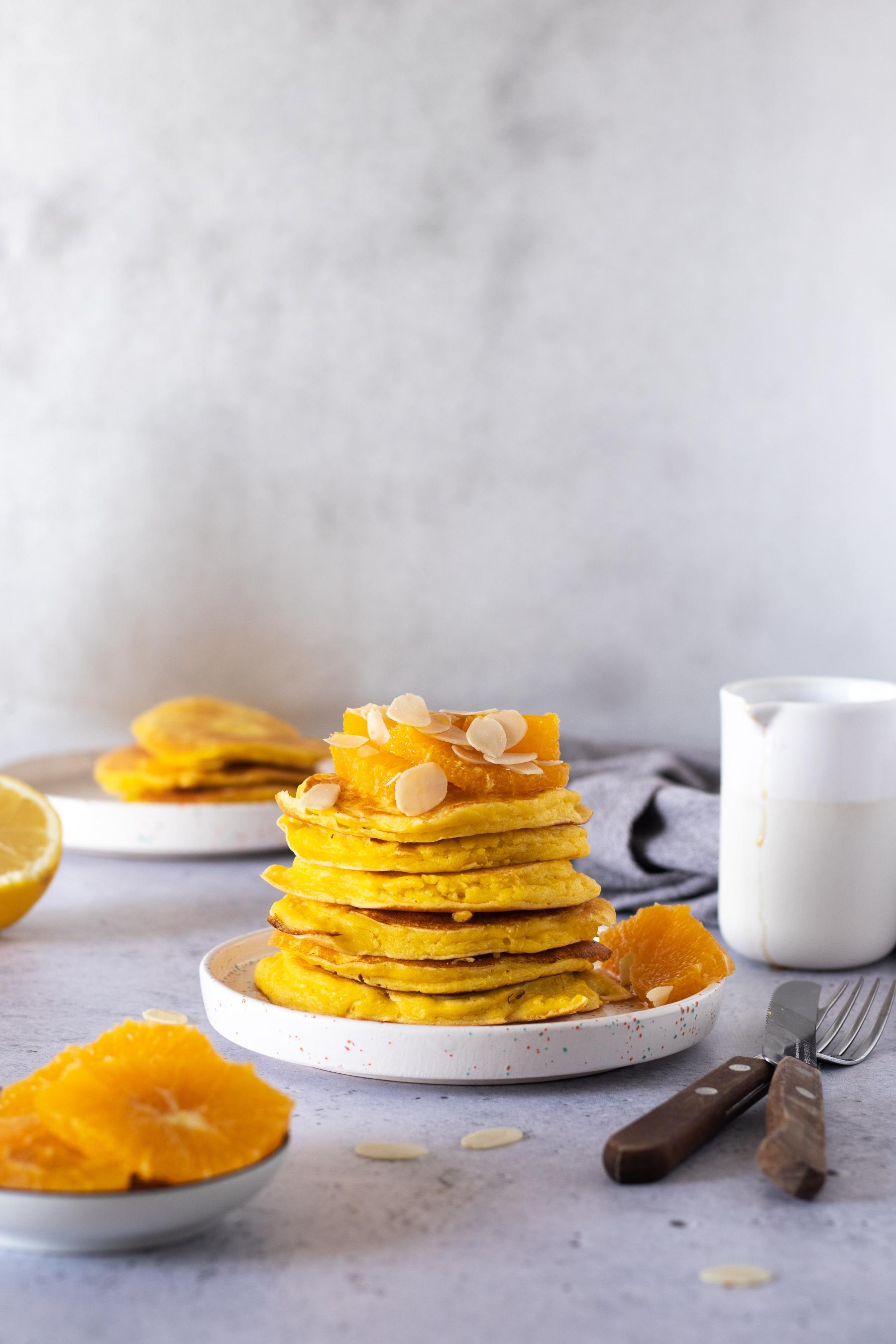 Palačinke od ricotte i naranče